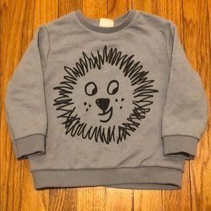 Zara Baby Lion Sweatshirt